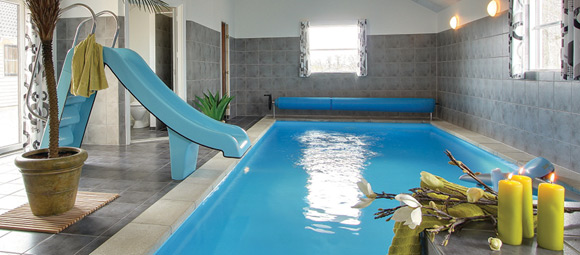 ferienhaus d nemark mit pool bei mieten. Black Bedroom Furniture Sets. Home Design Ideas
