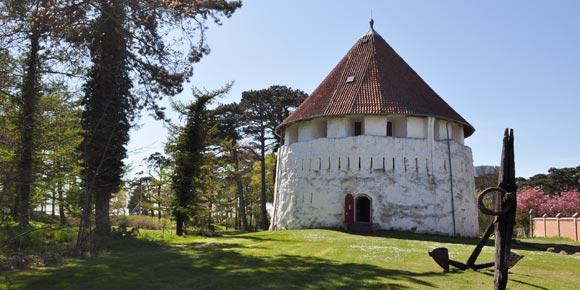 Die Zitadelle in Ronne mit Bornholms Verteidigungsmuseum