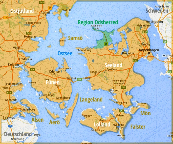 Dänemark Nordseeküste Karte.Ferienhaus Odsherred ᐅ Urlaub In Odsherred Buchen