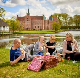 Entspanntes Picknick am Egeskov Slot