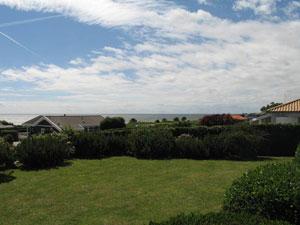 Karrebæksminde Haus N262 Blick über das Meer