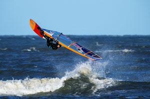 Windsurfer in Klitmøller