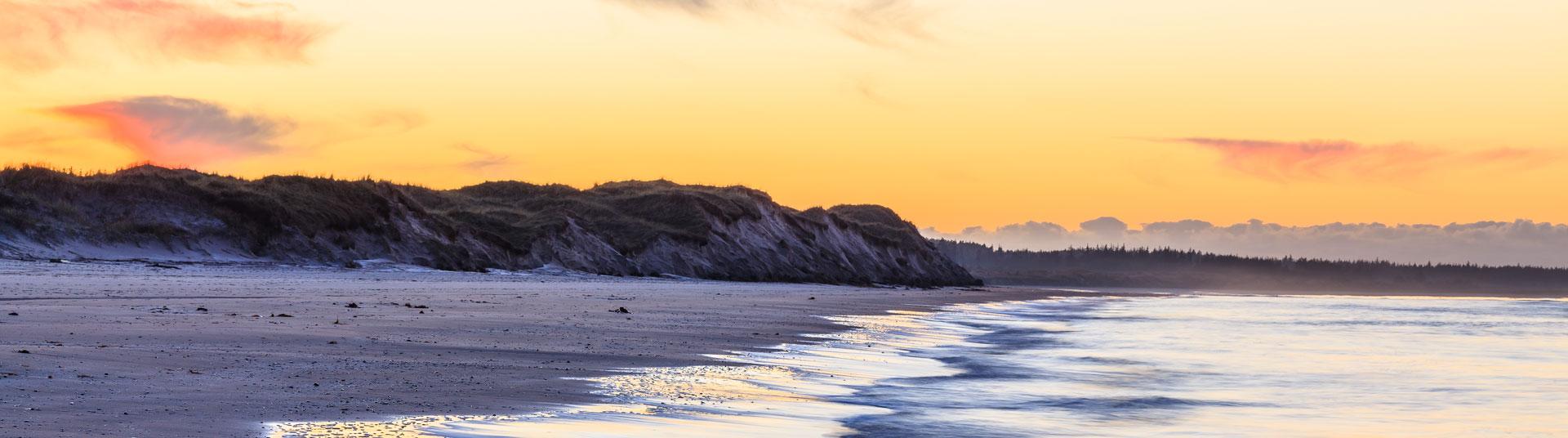 Küstenpanorama an Dänemarks Westküste