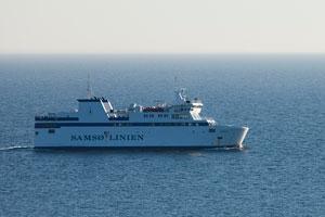 Fähre nach Samsø