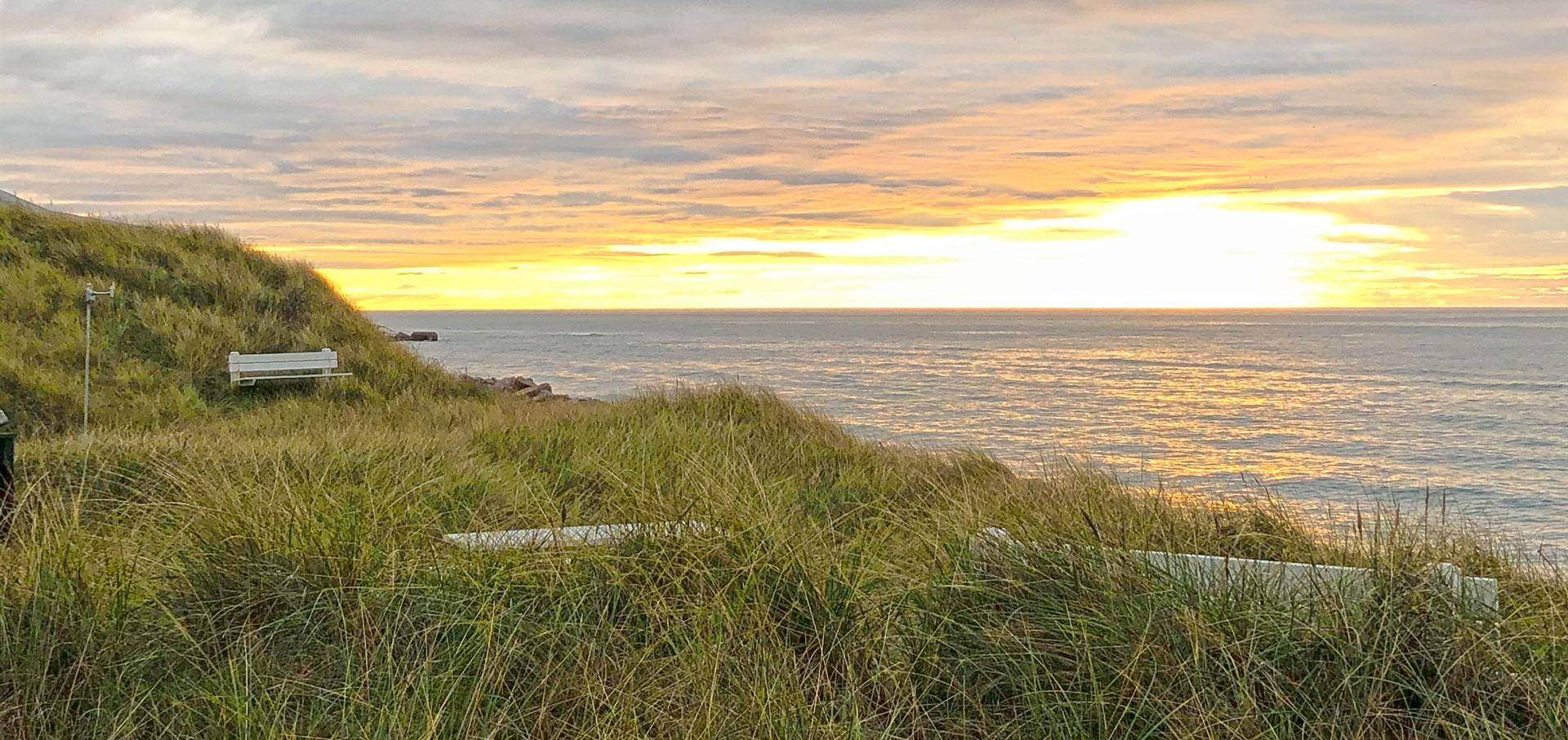 Sonnenuntergang bei Lønstrup