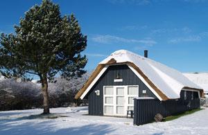 Winter am Ferienhaus