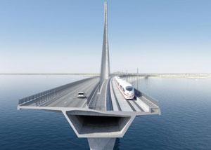 Entwurf Storstrømsbrücke