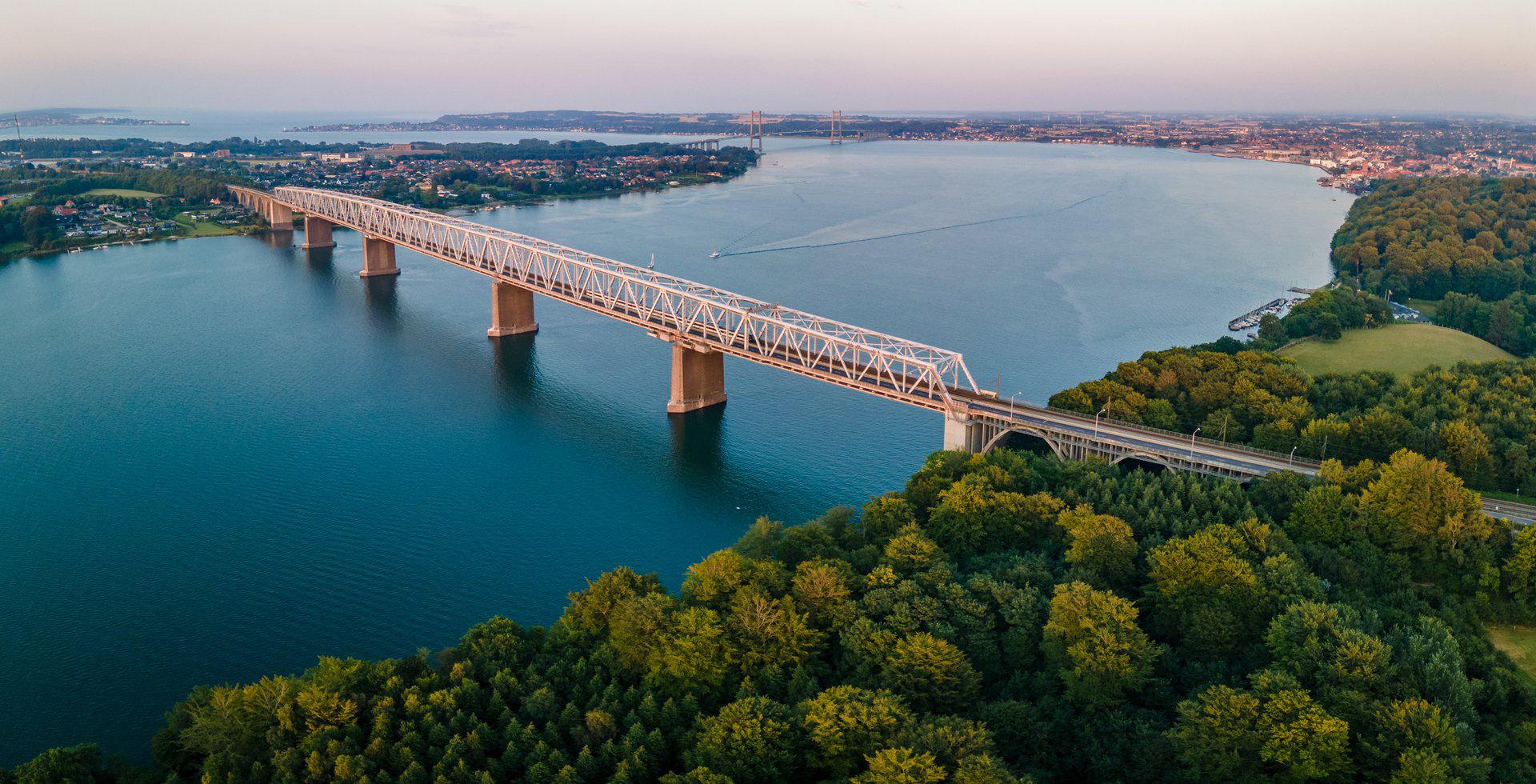 Die Lillebælt-Brücke